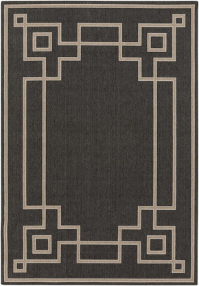 Alfresco Area Rug Black