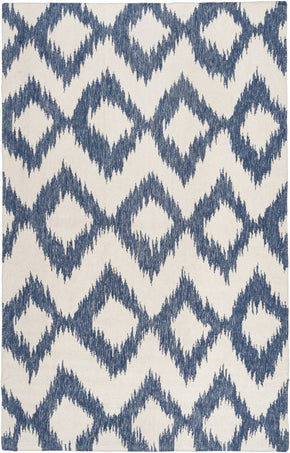 Frontier Ikat And Suzani Area Rug Blue