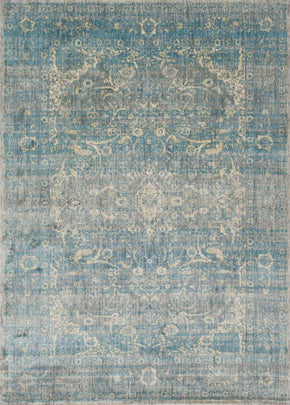 Blues, Greens, Rugs, Transitional - Loloi Rugs ANASAF-10LBMI2740 Loloi Anastasia Lt. Blue / Mist Area Rug | 885369251337 | Only $139.00. Buy today at http://www.contemporaryfurniturewarehouse.com