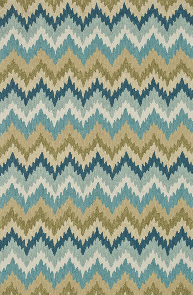 Loloi Summerton Aqua / Green Area Rug