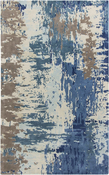 Blues, Ivory & Whites, Multi, Rugs, Tan & Neutrals - Surya BAN3342-23 Banshee Area Rug Blue | 764262667066 | Only $144.60. Buy today at http://www.contemporaryfurniturewarehouse.com
