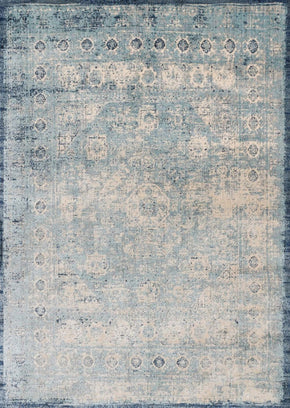 Blues, Ivory & Whites, Rugs, Transitional - Loloi Rugs ANASAF-14LBIV2740 Loloi Anastasia Lt. Blue / Ivory Area Rug | 885369273278 | Only $139.00. Buy today at http://www.contemporaryfurniturewarehouse.com