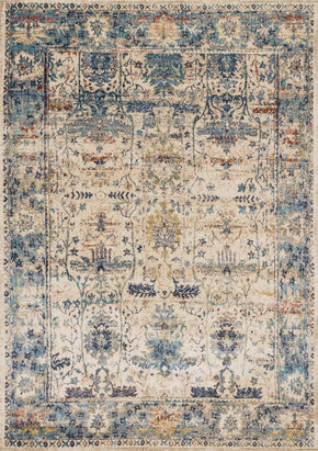 Blues, Rugs, Tan & Neutrals, Transitional - Loloi Rugs ANASAF-07SALB2740 Loloi Anastasia Sand / Lt. Blue Area Rug | 885369251283 | Only $139.00. Buy today at http://www.contemporaryfurniturewarehouse.com