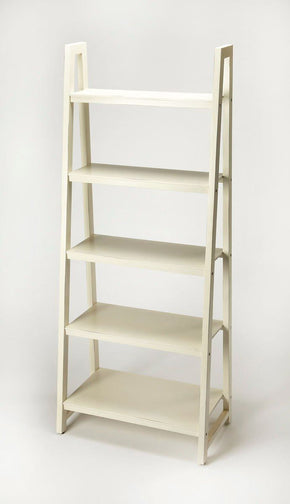 Stallings Traditional Bookcase White