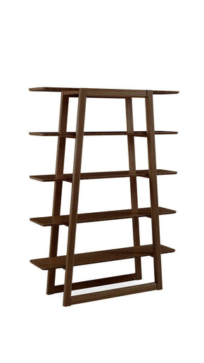 Currant Bookshelf Bamboo Black Walnut Bookcase
