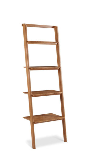 Bookcases - Greenington G0049CA Currant Leaning Bookshelf Bamboo Carmalized | 852659194681 | Only $547.50. Buy today at http://www.contemporaryfurniturewarehouse.com