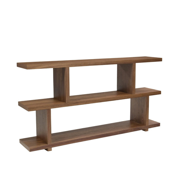 Miri Shelf Small Walnut Bookcase