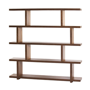 Miri Shelf Large Walnut Bookcase