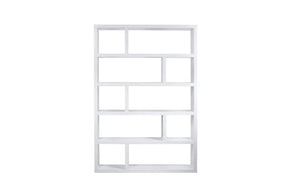 Dublin High Pure White Bookcase