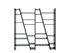 Delta Composition New 2010-004 Pure Black Bookcase
