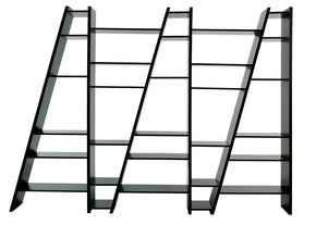 Delta Composition New 2010-005 Pure Black Bookcase