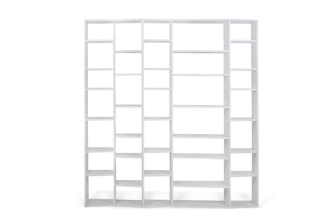Valsa Composition 2012-005 Bookcase Pure White