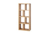 Berlin 4 Levels 70 Cm Oak Bookcase