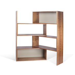 Move Shelving Unit Walnut / Matte Grey Bookcase
