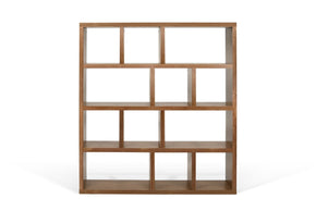 Berlin 4 Levels 150 Cm Walnut Bookcase