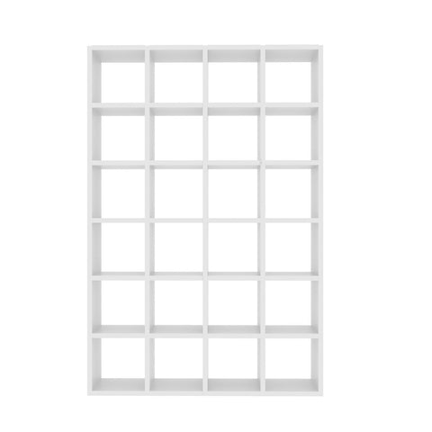 Pombal Composition 2010-001 Pure White Bookcase