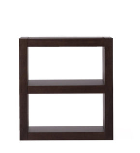 Bookcases - TemaHome 9500.512148 Denso Composition C Chocolate Bookcase | 5603449512148 | Only $454.00. Buy today at http://www.contemporaryfurniturewarehouse.com