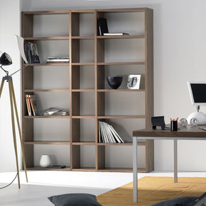 Pombal Composition 2010-018 Walnut Bookcase