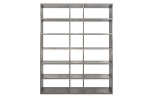 Pombal Composition 2010-018 Faux Concrete Bookcase