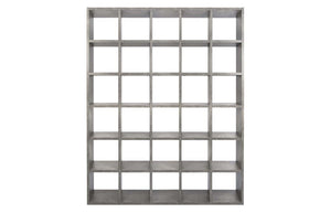 Pombal Composition 2015-072 Faux Concrete Bookcase