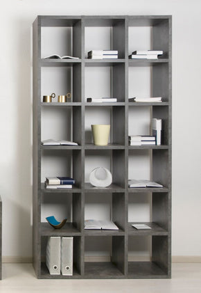 Pombal Composition 2015-074 Faux Concrete Bookcase