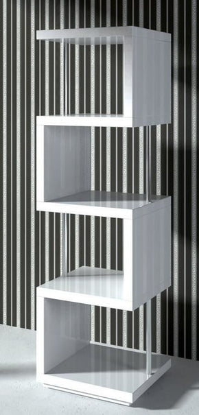 Modrest Stage2 - White Wall Unit Bookcase