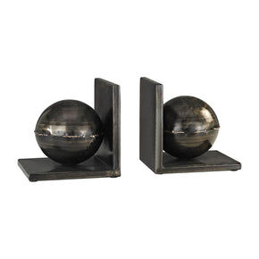 Bookends - Elk Group ELK-3138-260/S2 Fugue Holmes Bronze 6-Inch Set of 2 Metal Bookends Holmes Bronze | 843558150397 | Only $62.00. Buy today at http://www.contemporaryfurniturewarehouse.com