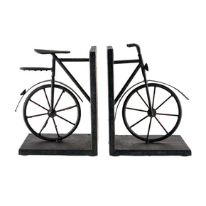 Bookends - Elk Group ELK-51-3857 Pair Bicycle Bookends Rust & aged red | 843558015863 | Only $81.00. Buy today at http://www.contemporaryfurniturewarehouse.com