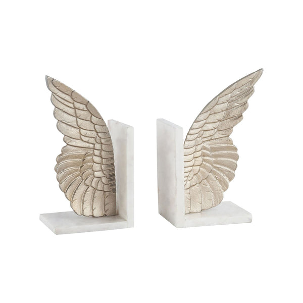 Seraph Set Of 2 Bookends Champagne Gold Bookend