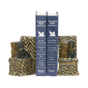Pair Millionaire Pet Bookends Bookend