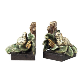 Quail Bookends Bookend