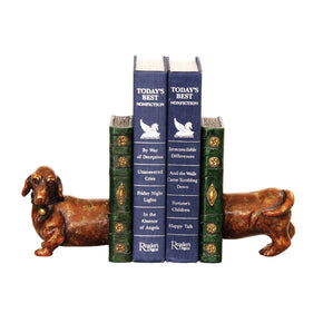 Pair Of Peppy Bookends Brown Bookend