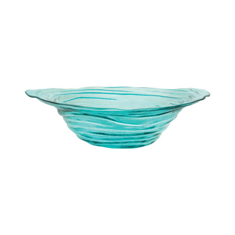 Vortizan 19.5-Inch Bowl In Basic Turquoise