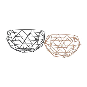 Connect Bowls Black,rose Gold Bowl