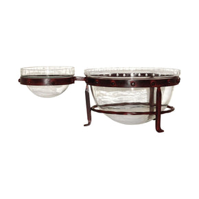 Bowls - Elk Group ELK-607486 Mission Chip And Dip Montana Rustic,Clear | 769072607486 | Only $62.64. Buy today at http://www.contemporaryfurniturewarehouse.com
