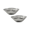 Blossom Set Of 2 Small Bowls Aluminum Bowl