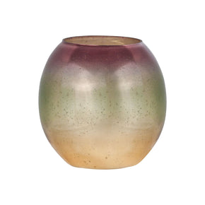 Baja Bowl 8-Inch Glass Votive Pompeii