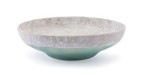 Azte Bowl Gray & Teal