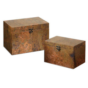 Ambrosia Copper Boxes S/2 Box