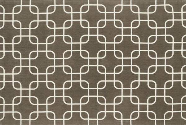 Loloi Geo Brown / Ivory Area Rug