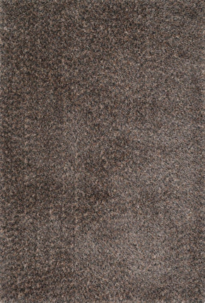 Loloi Callie Shag Dark Brown / Multi Area Rug
