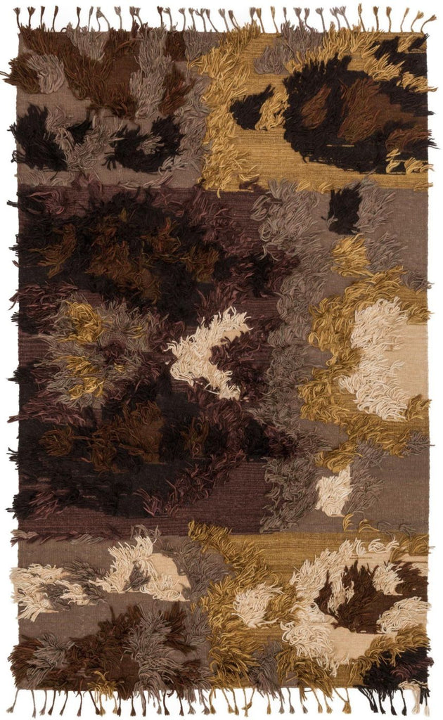Browns, Contemporary, Rugs, Shag - Loloi Rugs FABLFD-01WA003656 Loloi Fable Walnut Area Rug | 885369275159 | Only $459.00. Buy today at http://www.contemporaryfurniturewarehouse.com