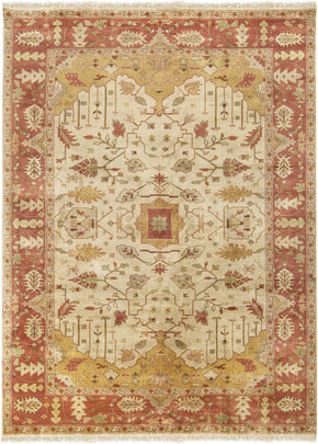 Adana Classic Area Rug Brown Red