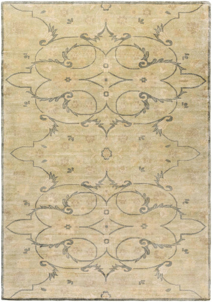 Ainsley Classic Area Rug Green