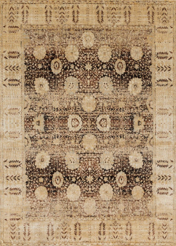 Loloi Anastasia Coffee / Gold Area Rug
