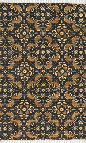 Loloi Aria Brown / Gold Area Rug