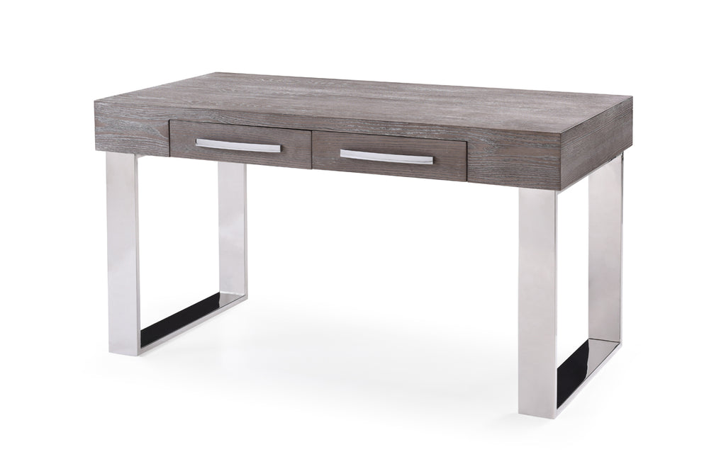 Vig Furniture VGVCBT8922-GRY Modrest Lola Modern Grey Elm Desk