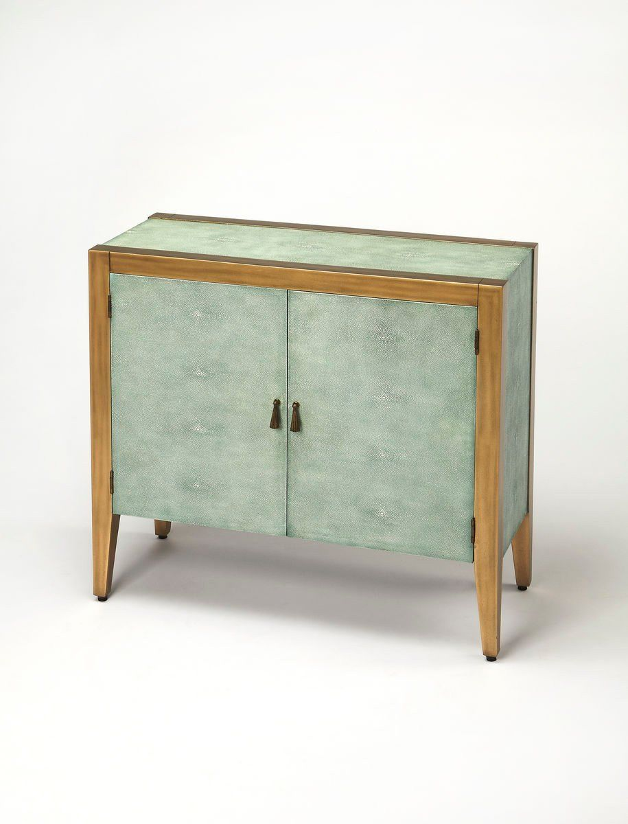 Buy Butler Furniture BUT-3705350 Apollonia Modern Rectangular Console  Cabinet Blue at Contemporary Furniture Warehouse