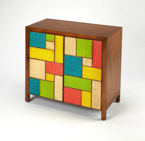 Composition Modern Rectangular Console Cabinet Assorted