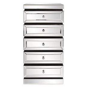 Howard Elliott 5-Tiered Mirrored Tower w/ Drawers HE-99063 | 848635058948| $999.90. Cabinets - . Buy today at http://www.contemporaryfurniturewarehouse.com